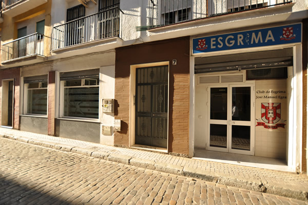 Sala de Esgrima José Manuel Egea - Sevilla